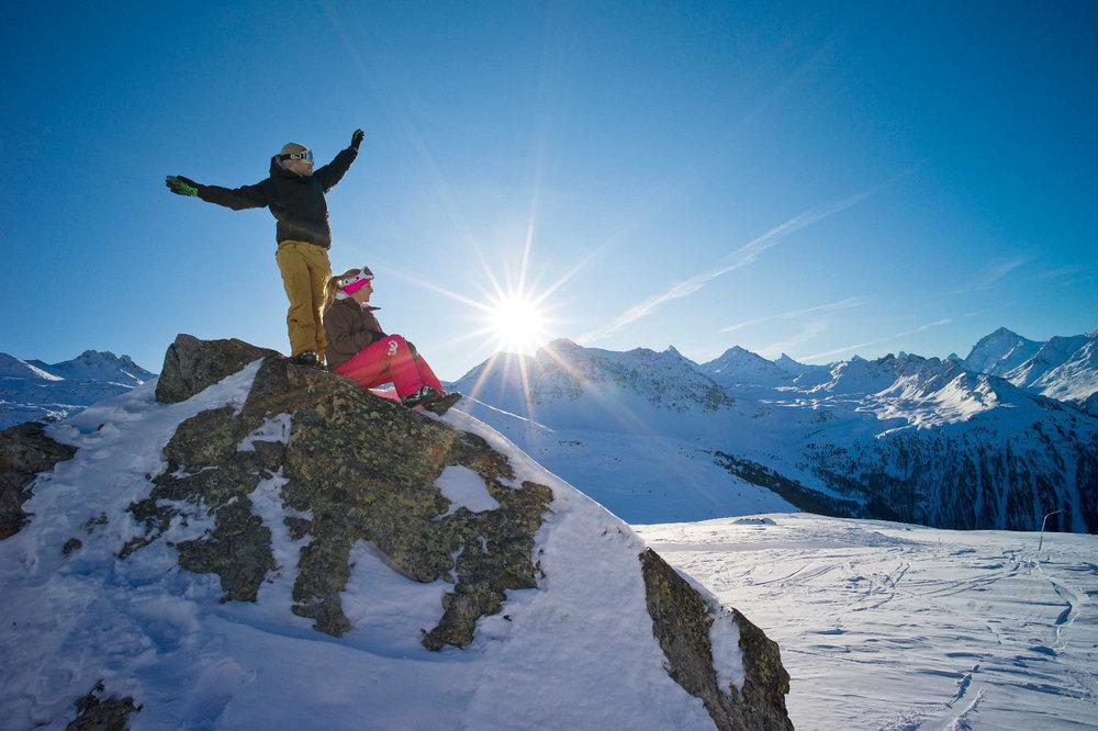 Sur les hauteurs de St-Luc Chandolin - © Val d'Anniviers Valais