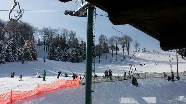 Awesome skiing, I can't believe that Seven Springs pulled it off!!!