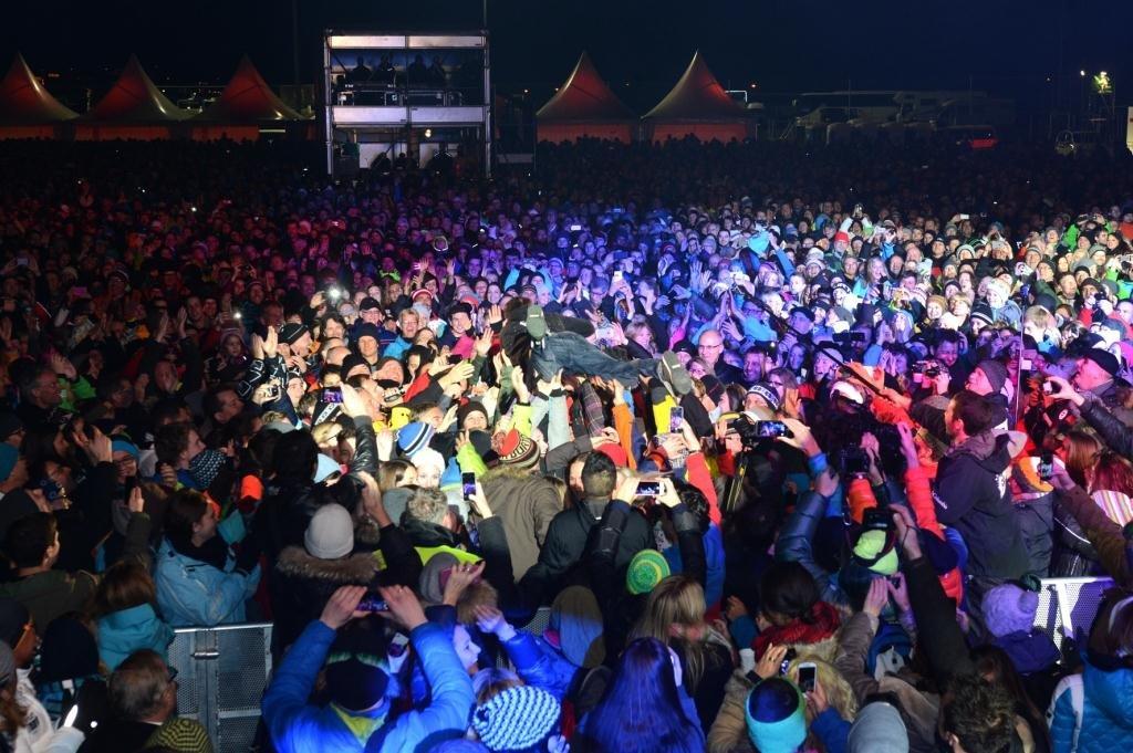 Sesongåpning i Ischgl 2014-2015. - © TVB Paznaun - Ischgl