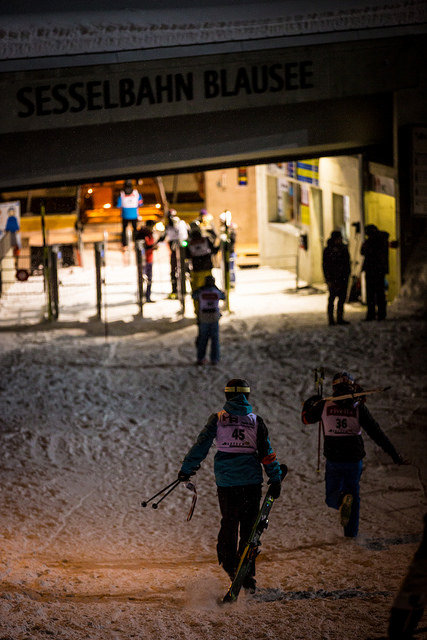 You can take your skis also at night - © ValaisWallis Promotion Pascal Gertschen