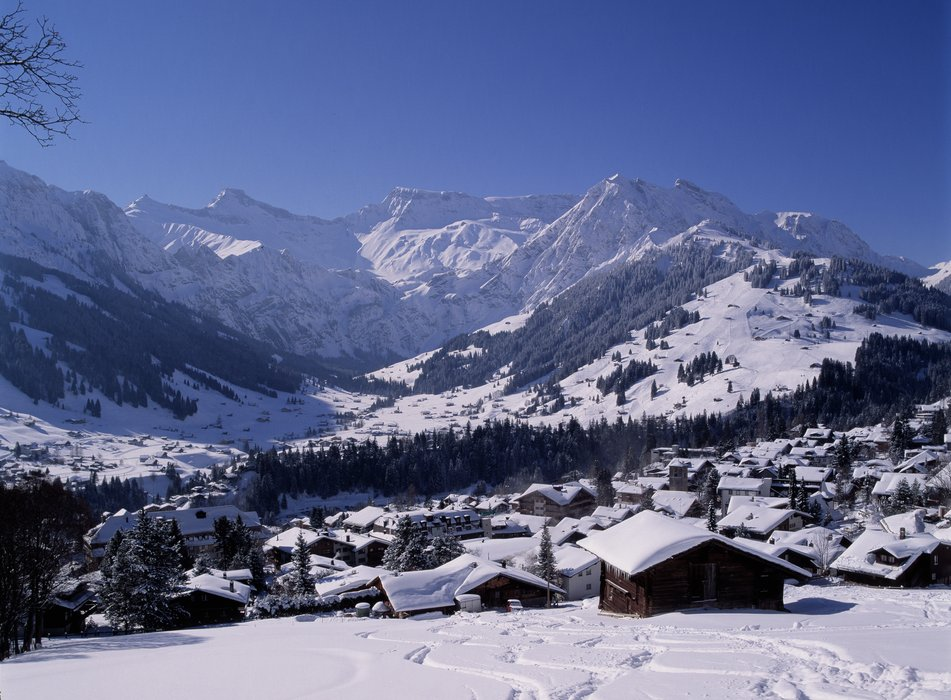 The scenic town of Adelboden.