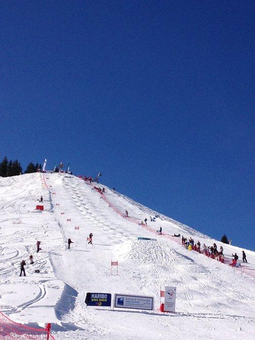 Albiez accueille la Coupe de France de ski de bosses - © Office de Tourisme Albiez