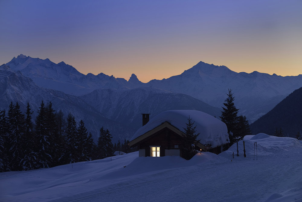 Wunderful sunsets - © Aletsch Arena