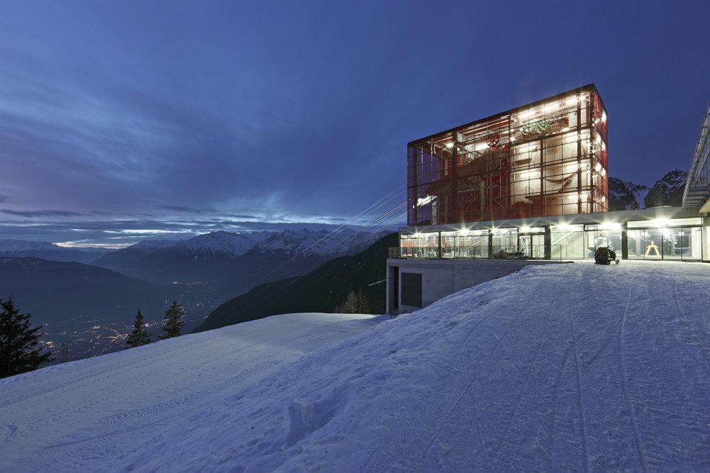 Bergstation Meran 2000 - © Frieder Blickle