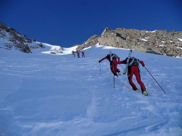 Course de ski de montagne Sybelles-Villarinche - © Maison du Tourisme de la Vallée des Villards