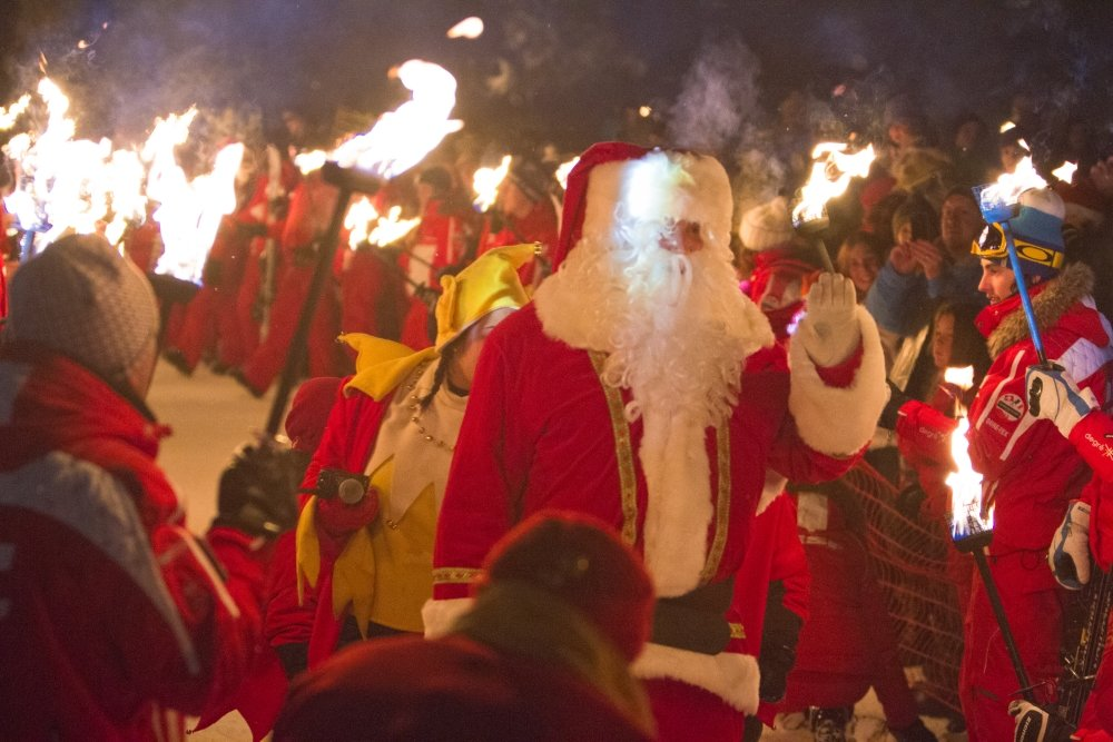 Father Christmas in Les Gets - © OT Les Gets