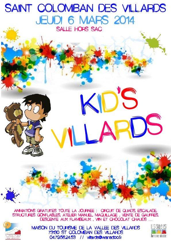 Kid's Villards - ©Maison du Tourisme de la Vallée des Villards