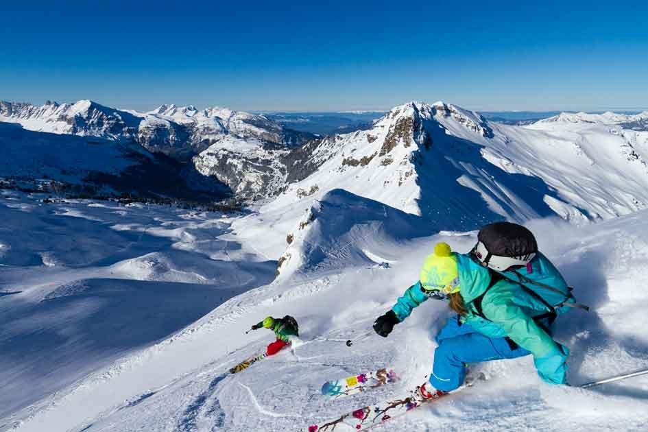 Le Grand Massif, un terrain de jeu grandeur nature - © @TristanShu.com/DSF-DSG
