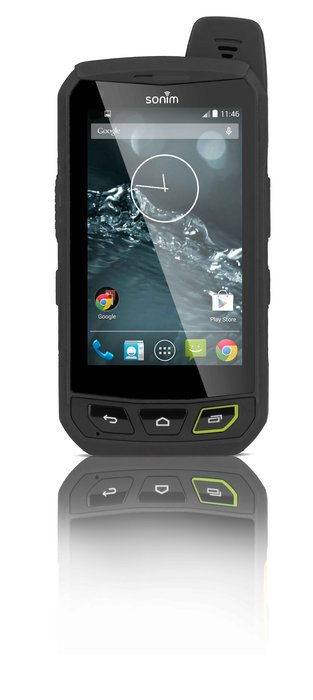 """Sonim Technologies XP7 Extreme: Billed as the """"most rugged Android LTE smartphone,"""" Sonim is the toughest phone you've never heard of. Built to weather snow, cold and drops, Sonim also provides a three-year warranty that covers even accidental damage."""