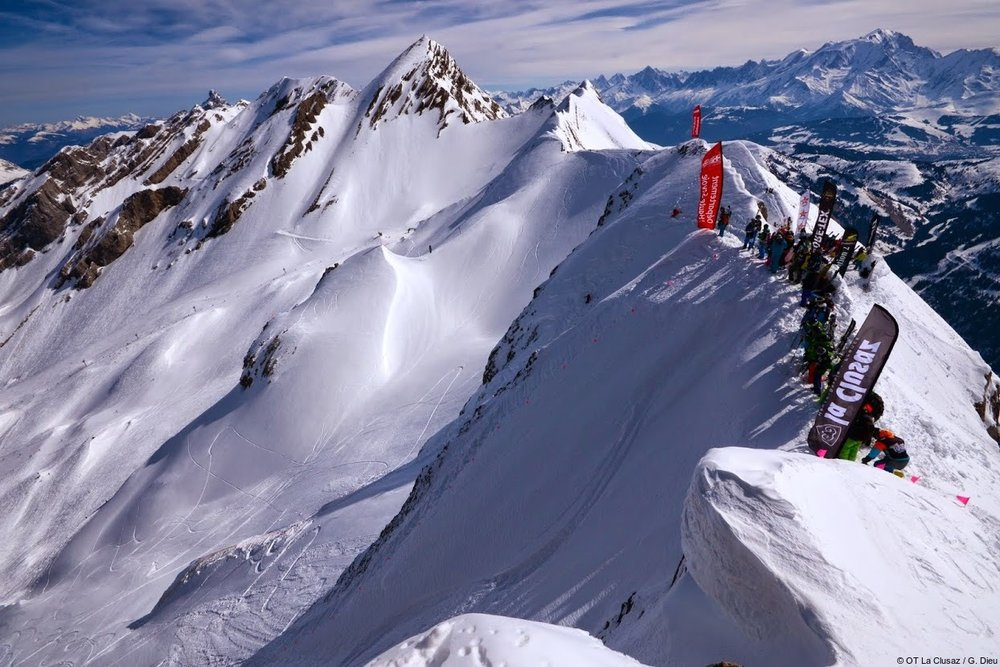 A top start for the RADIKAL MOUNTAIN JUNIOR - ©OT La Clusaz