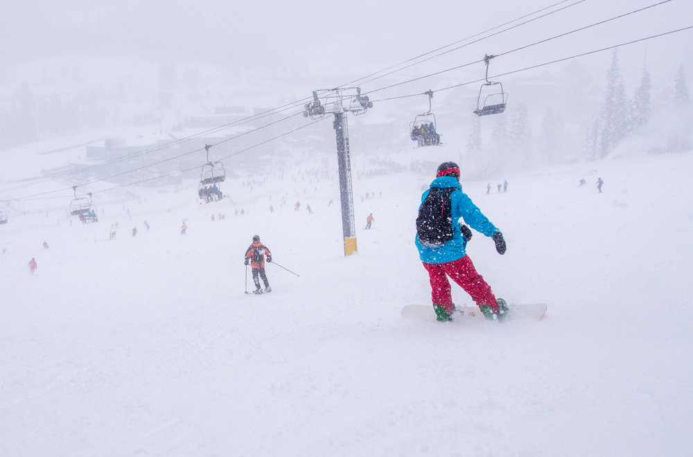 Skiers and riders enjoy opening day freshies Nov. 15, 2014 at Winter Park Resort. - © Winter Park Resort