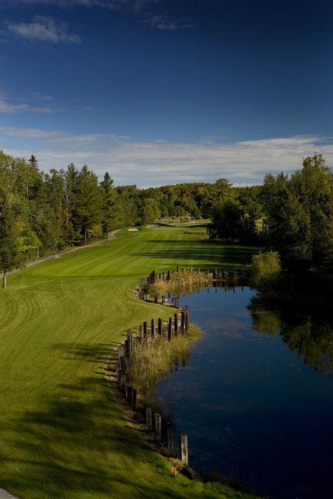Golf course pond, Boyne Highlands Resort