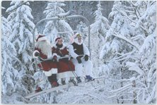 - © The holiday spirit is alive at Snowshoe Mountain!
