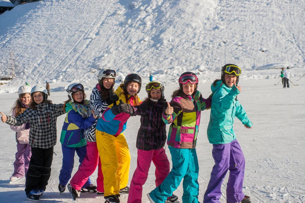 Kinder im Skigebiet Kappl - See - © Tourismusverband Paznaun – Ischgl