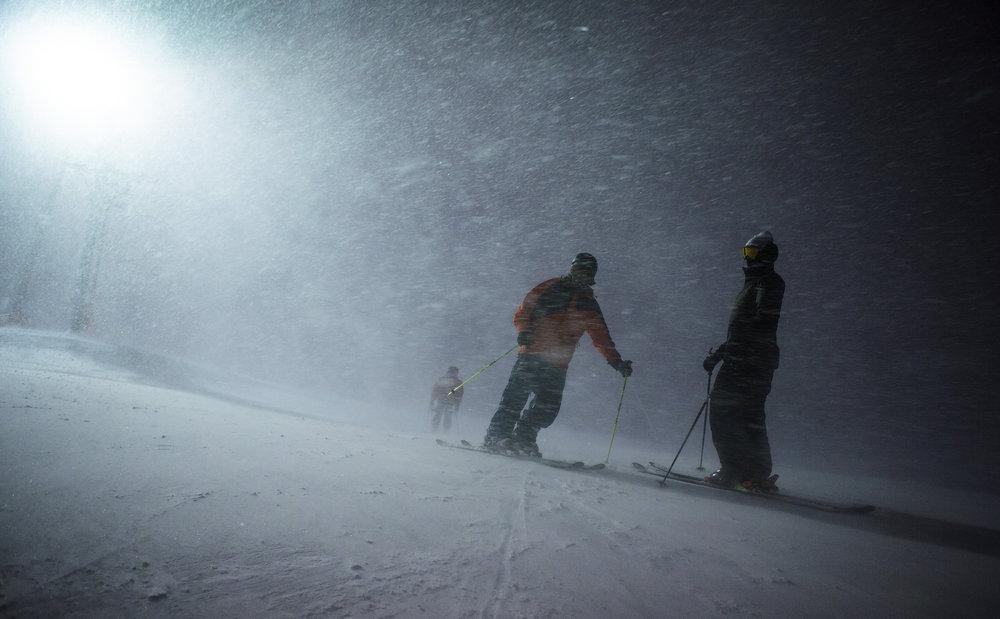 Snøstorm på Vierli - © Lasse Nyhaugen/Field Productions