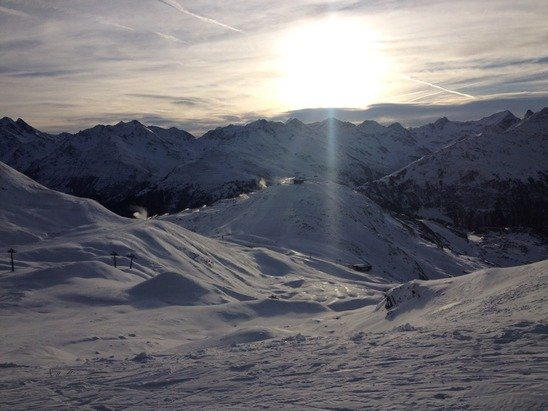 Saturday 20th December. Good snow and pistes condition.
