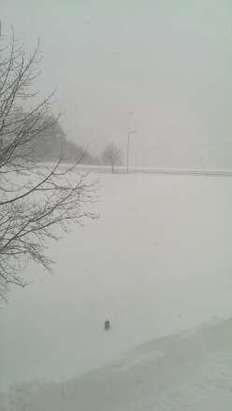 c'è oltre il metro e trenta cm di neve.