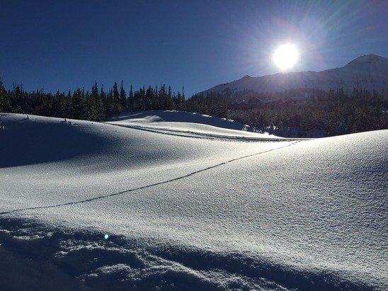 Great skiing in Big Sky!!!!