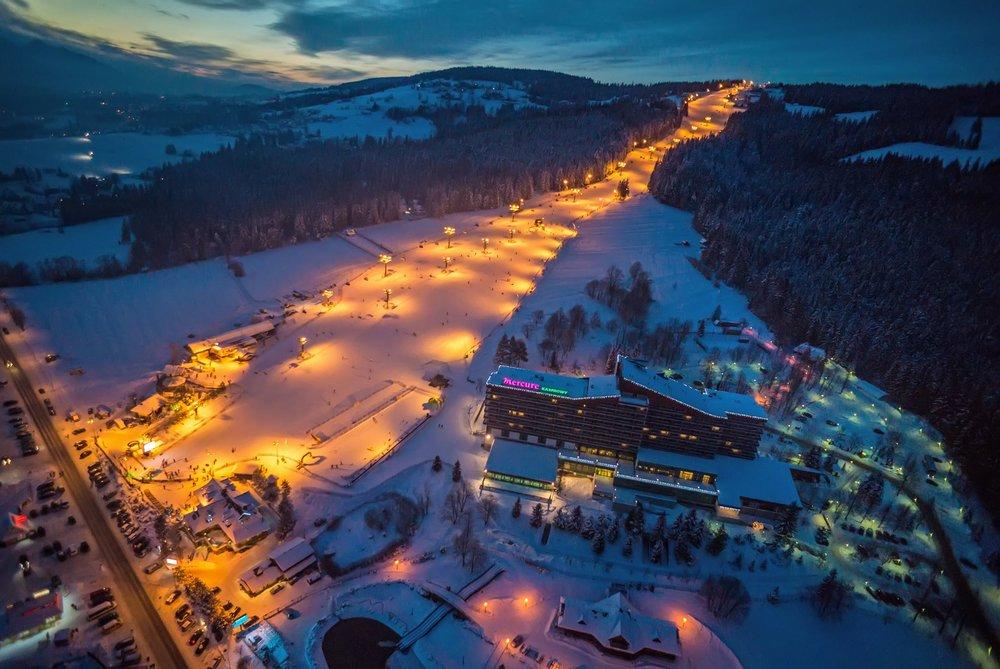 Polana Szymoszkowa - night view - © facebook.com/szymoszkowa
