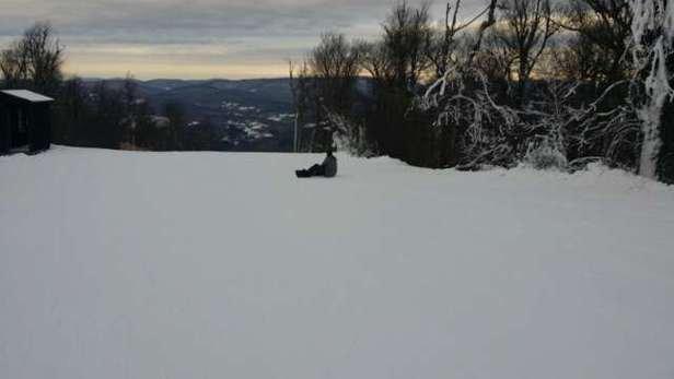 Nice mountain.  Short lift lines.