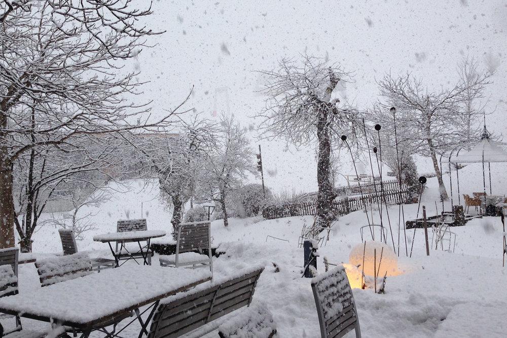 V Kleinwalsertali snežilo - 14.1.2015 - © Kleinwalsertal Tourismus