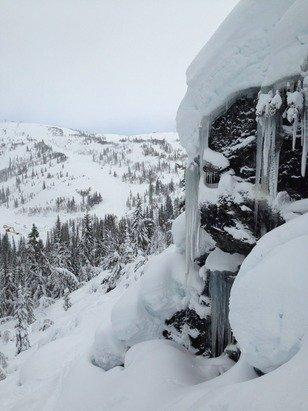 Sykt mye snø!