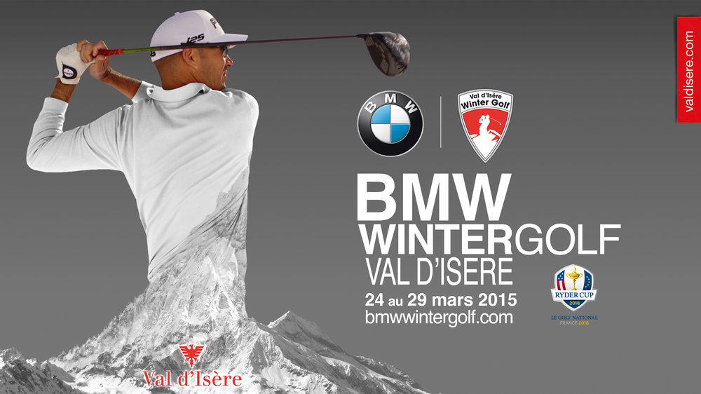 BMW Val d'Isère Winter Golf 2015 - ©Val d'Isère Tourist Office