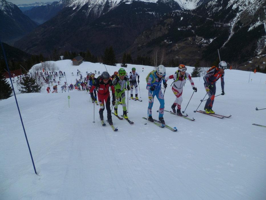 Course de ski de randonnée 700D du Tourmalet - © Ski Club Campan Tourmalet