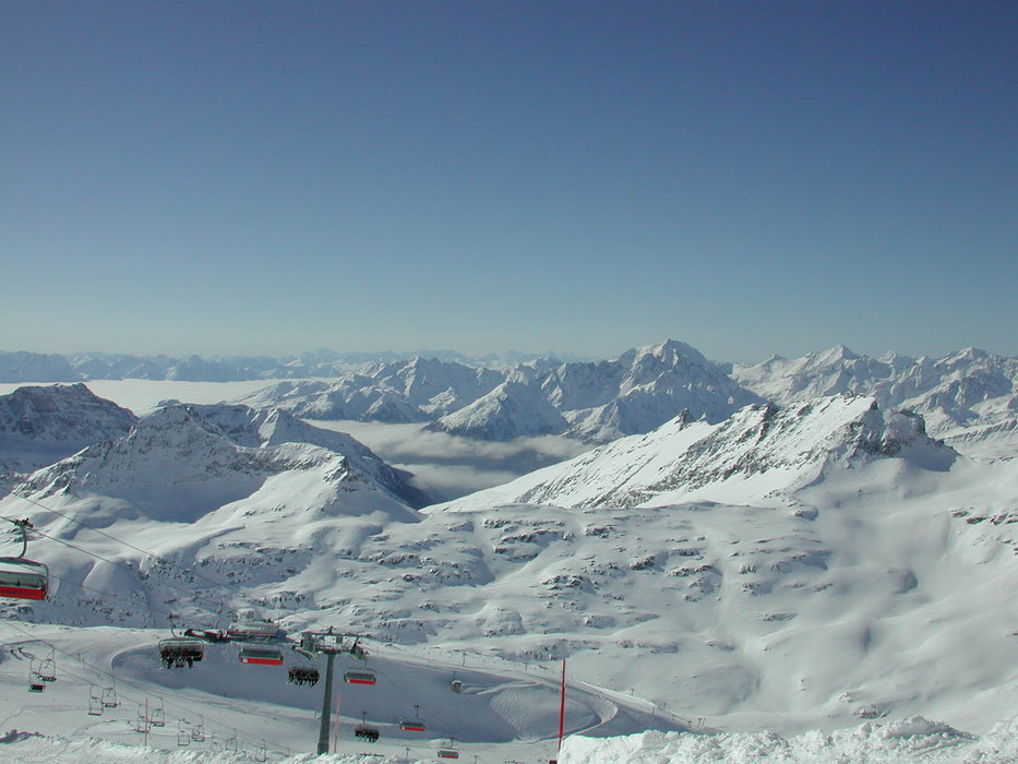 Aussicht Flattach, Mölltaler Gletscher, Österreich
