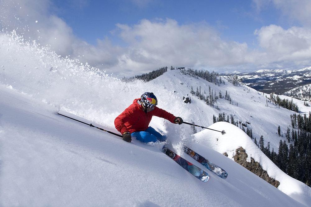 Former American World Cup racer Daron Rahlves skis Sugar Bowl - ©Grant Barta