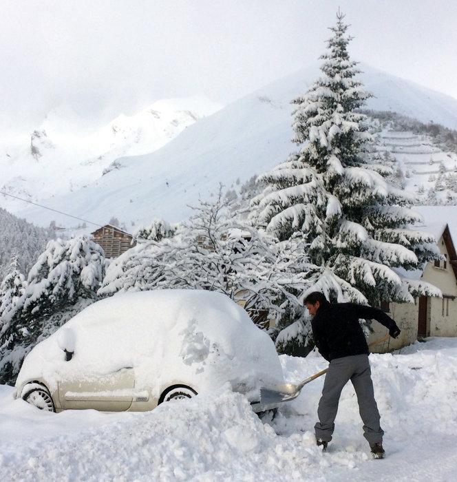 Val d'Allos : LA NEIGE EST LÀ ! - ©Office de Tourisme du Val d'Allos