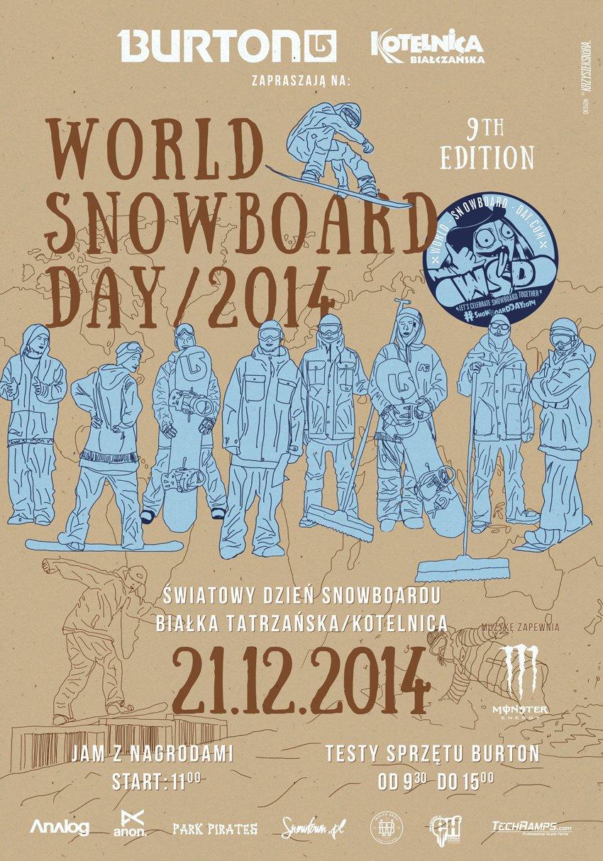 World Snowboard Day 2014 w Białce Tatrzańskiej - © ON Kotelnica Białczańska