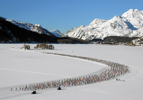 Engadin St. Moritz - swiss-image.ch/Remy Steinegger - © 47. Engadin Ski Marathon from Maloja to S-chanf