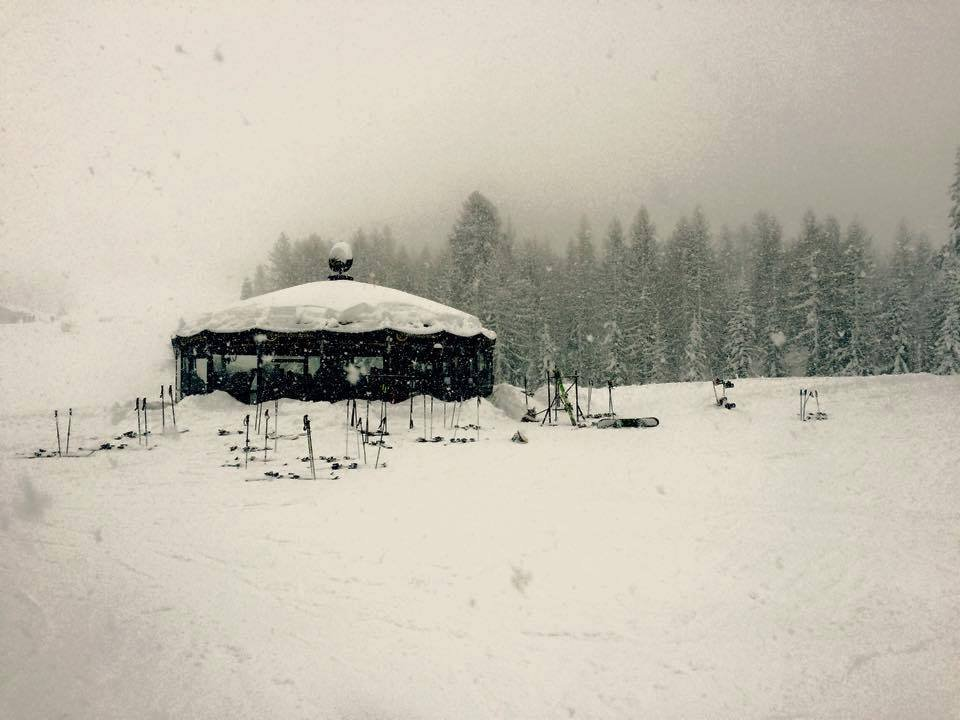 Viel Schnee gab es in Chiesa Valmenco