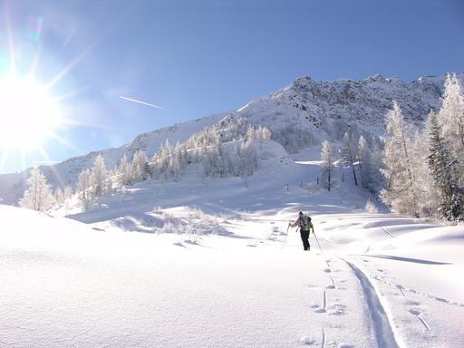 Mallnitz ist bei Skitourengehern und Freeridern beliebt - © Hohe Tauern - die Nationalpark Region