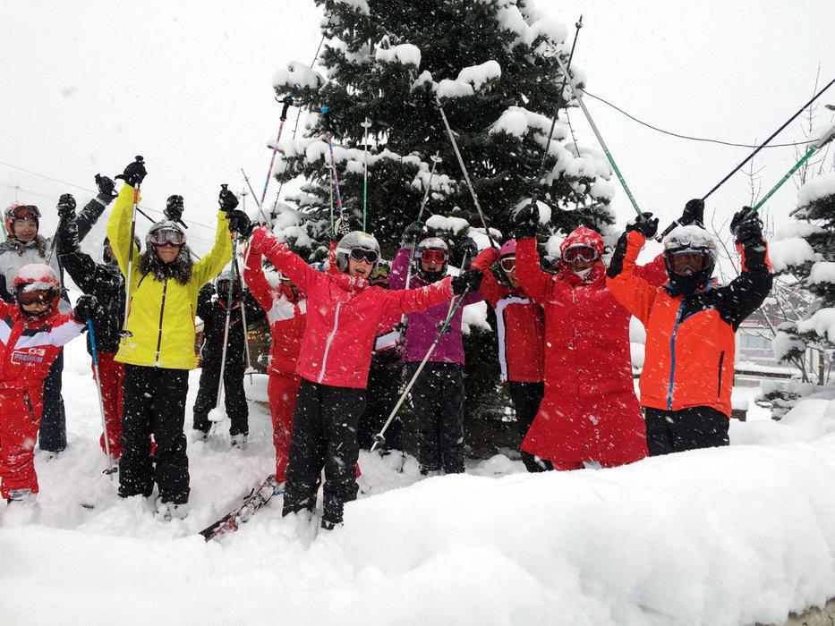 Val d'Allos : ½ mètre de neige fraîche attendu d'ici demain matin ! - ©Office de Tourisme du Val d'Allos