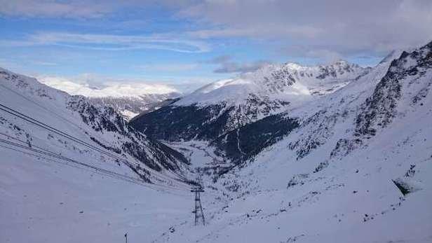 Ottima neve sia per chi pratica snowboard che sci.