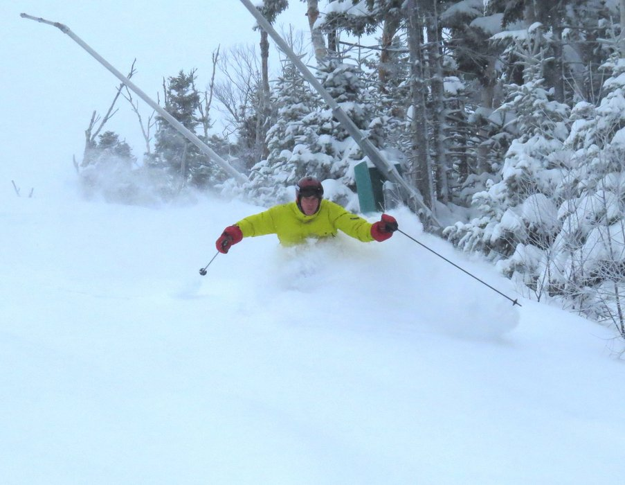 Blower powder at Bretton Woods Resort. - © Bretton Woods