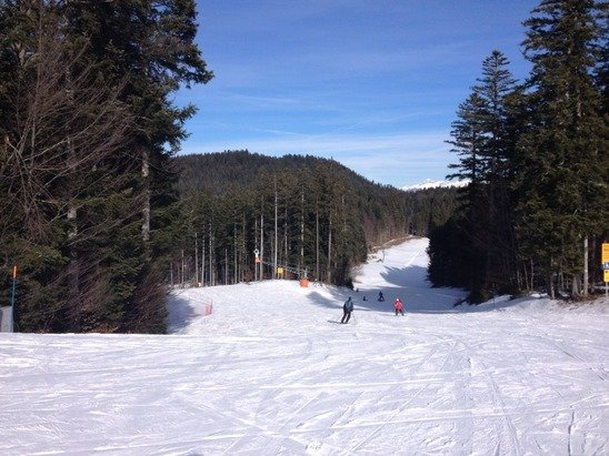 Ottima la giornata passata qui a Lavarone con lo snowboard!  Neve buona e pochissima gente sulle piste!!!!