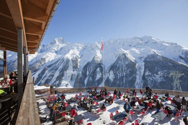 Skifahren auf der Lauchernalp im Lötschental  - © Lötschental Tourismus