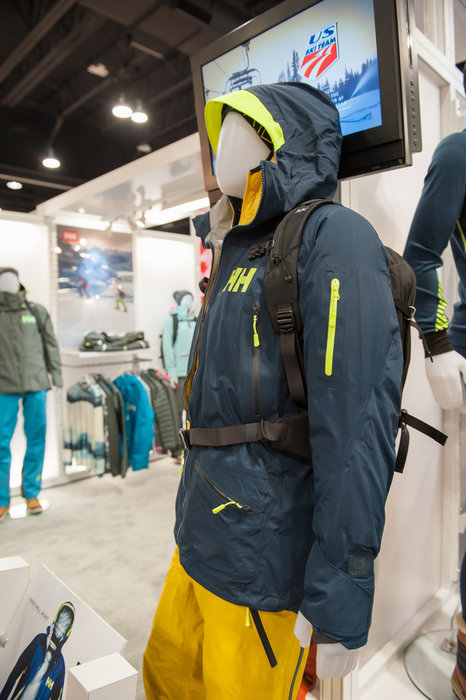 Helly Hansen's new Ridge Shell rocks features derived from the company's sailing collection. - ©Ashleigh Miller Photography