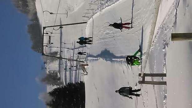 super Schnee,tolle Familienpiste am Sonnenhang
