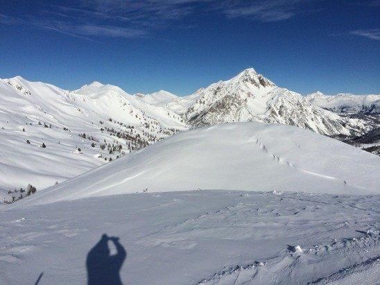 Claviere 8 febbraio 2015.... Neve fantastica