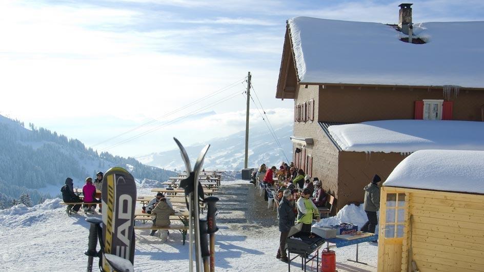 Panoramablick von der Hütte aus - © Skilift Neusell
