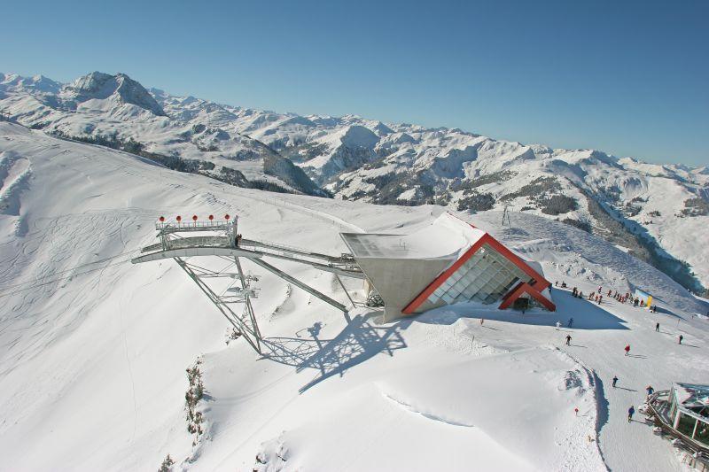 La gare du téléphérique à Kitzbühel