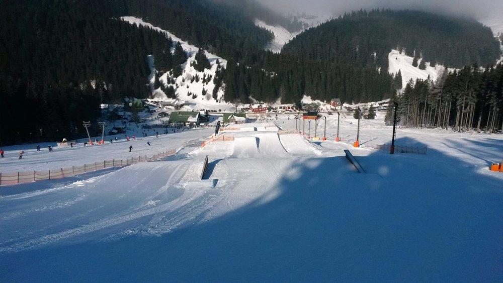 Snowpark v Peci pod Sněžkou zahajuje letošní provoz v sobotu 14.2.2015 - © Snowpark Pec pod Sněžkou