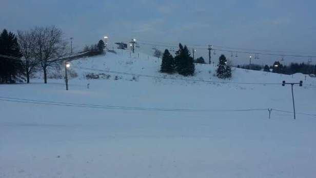 Finally! we got some snowstorm snow this season!