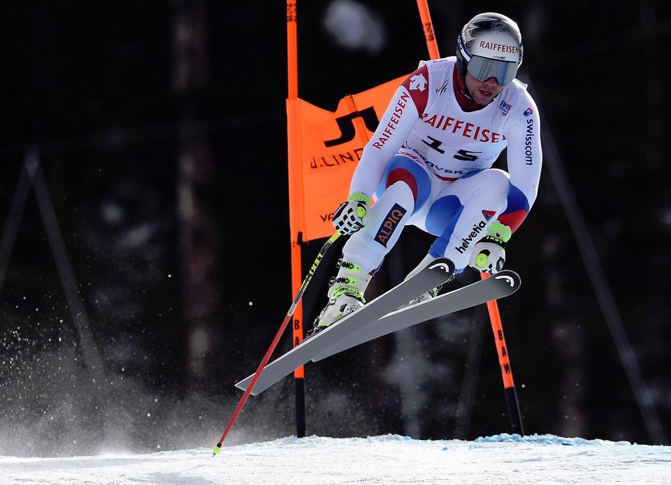 Der 3. Platz in der Abfahrt geht an Beat Feuz aus der Schweiz - ©Audi Media Service