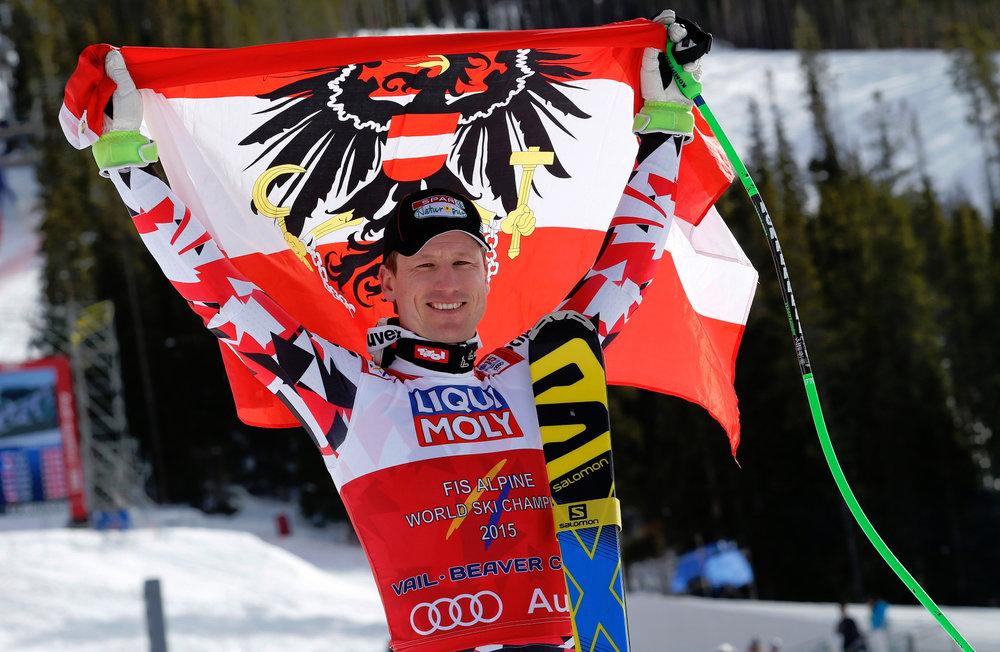 Gold für Österreich im Super-G: Hannes Reichelt  - ©Audi Media Service