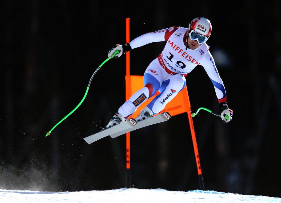 Goldmedaille in der Abfahrt: Patrick Küng (CH) - ©Audi Media Service